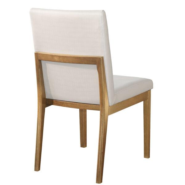 Cadeira Estofada Elen Sem Braço Sier empório vila rica