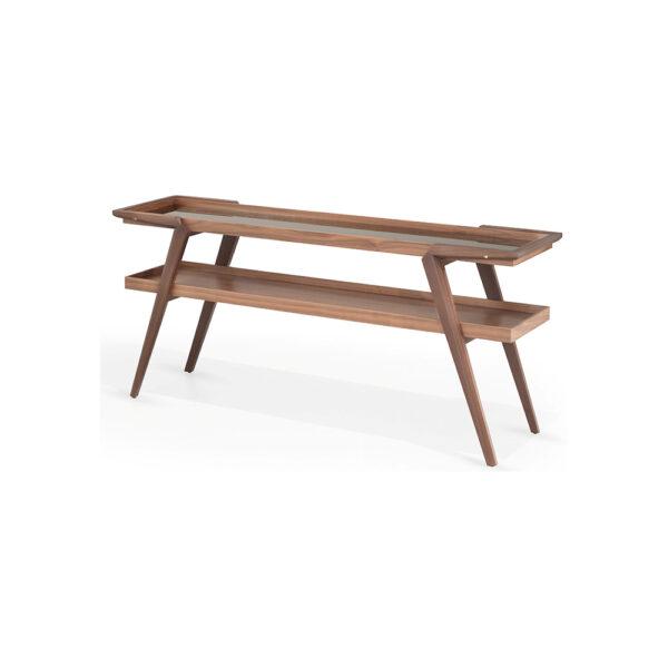 Aparador contemporâneo em madeira Gamboa - Empório Vila Rica