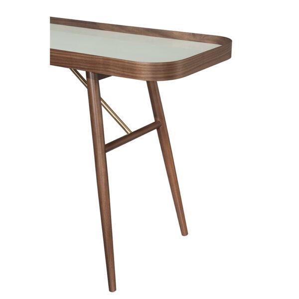 Aparador contemporâneo em madeira Tango - Empório Vila Rica