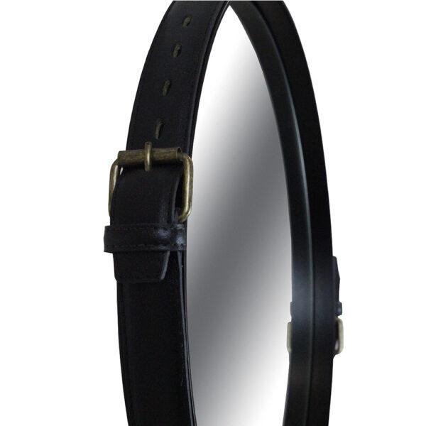 Espelho redondo industrial Fontenelle - Empório Vila Rica